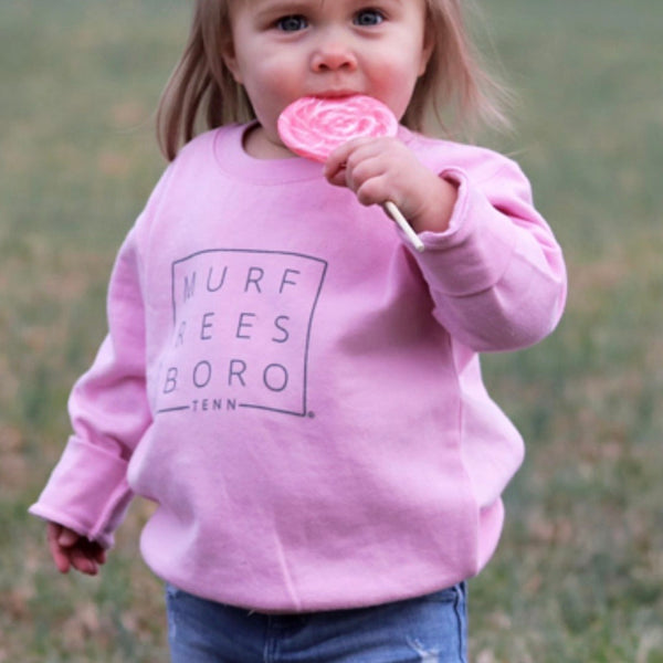 Bubble Gum Toddler Pullover
