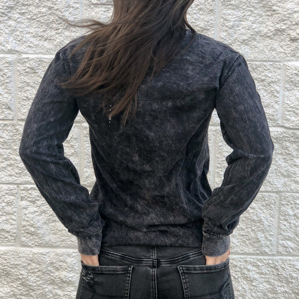 Mallory TENN Long Sleeve [Washed Black]