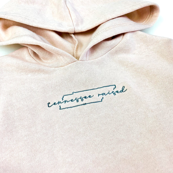 Tennessee Raised Youth Pullover [Rose Quartz]