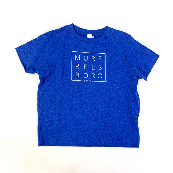 Original Murfreesboro Square© Toddler Tee [Royal]