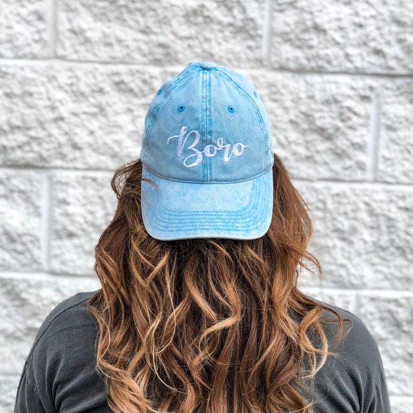 Boro Snow Wash Hat
