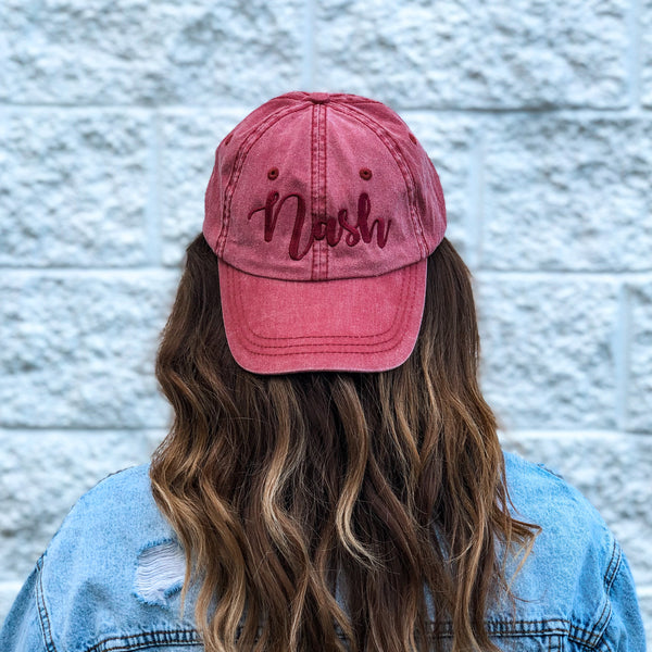 Pigmented Dyed Nash Hat