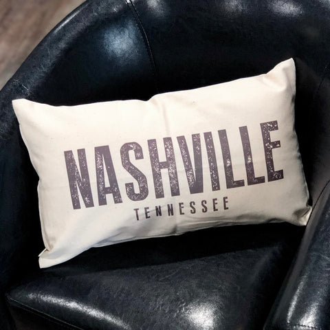 Nashville Tennessee Pillow