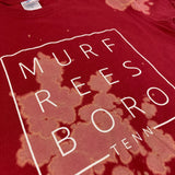 Bleached Murfreesboro Square Tee [Red]