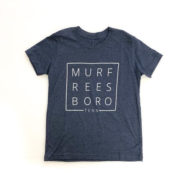 Murfreesboro Square© Youth Tee [Navy]