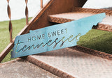 Home Sweet Tennessee Metal Sign