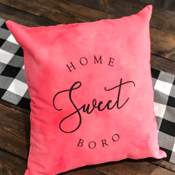 Limited Edition Hand Dyed Pink Pillow
