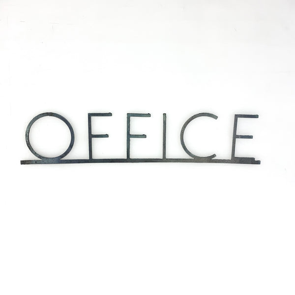 Office Metal Sign