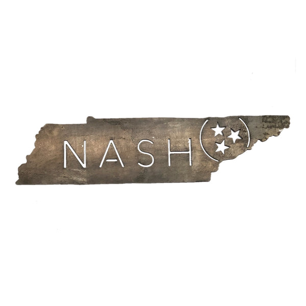 Nash Tristar Metal Sign
