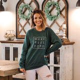 Murfreesboro Square© Sweatshirt [Heather Forest]