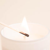 Midnight Sea Soy Candle | White Jar Candle