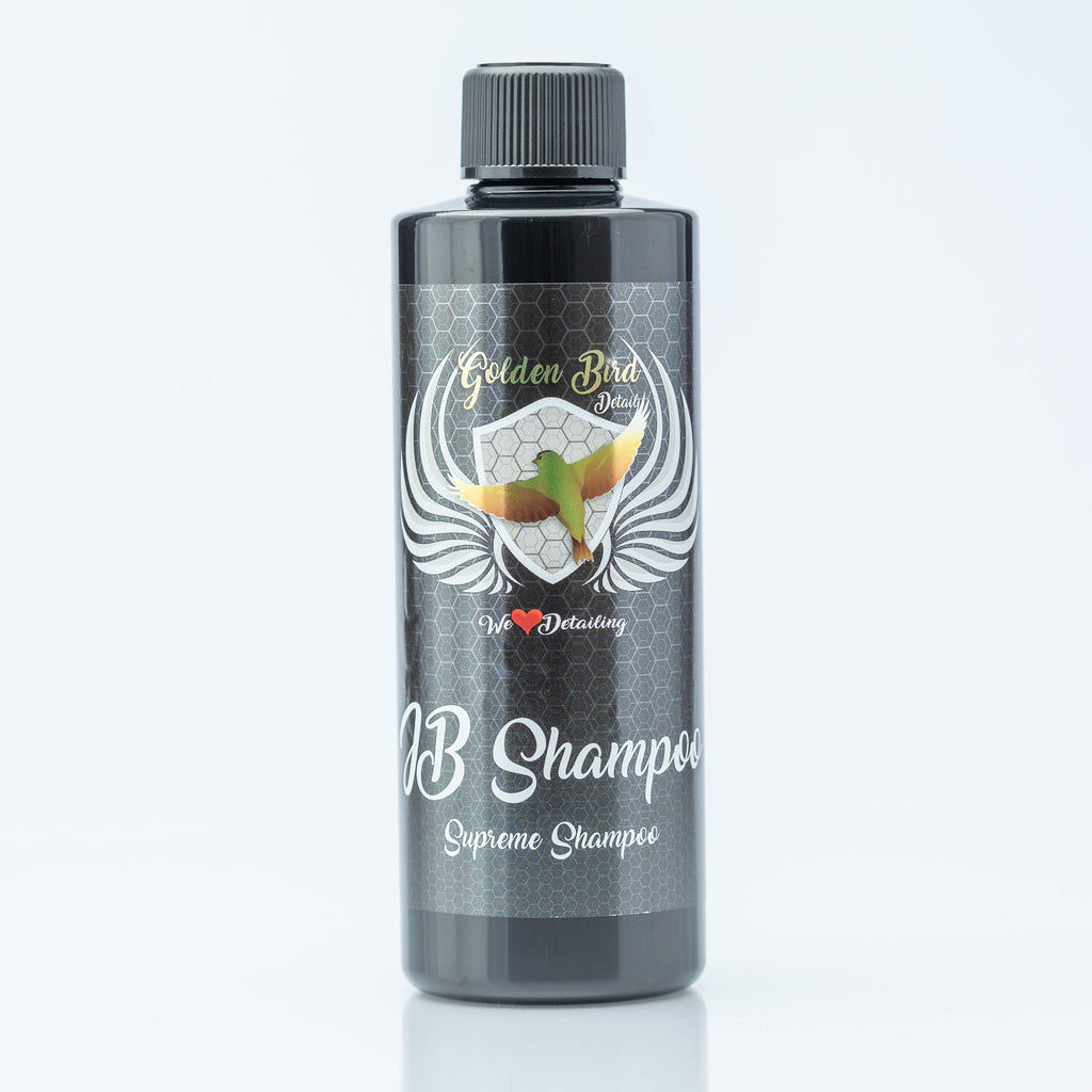 JB Shampoo Supreme Shampoo by Golden Bird Detail