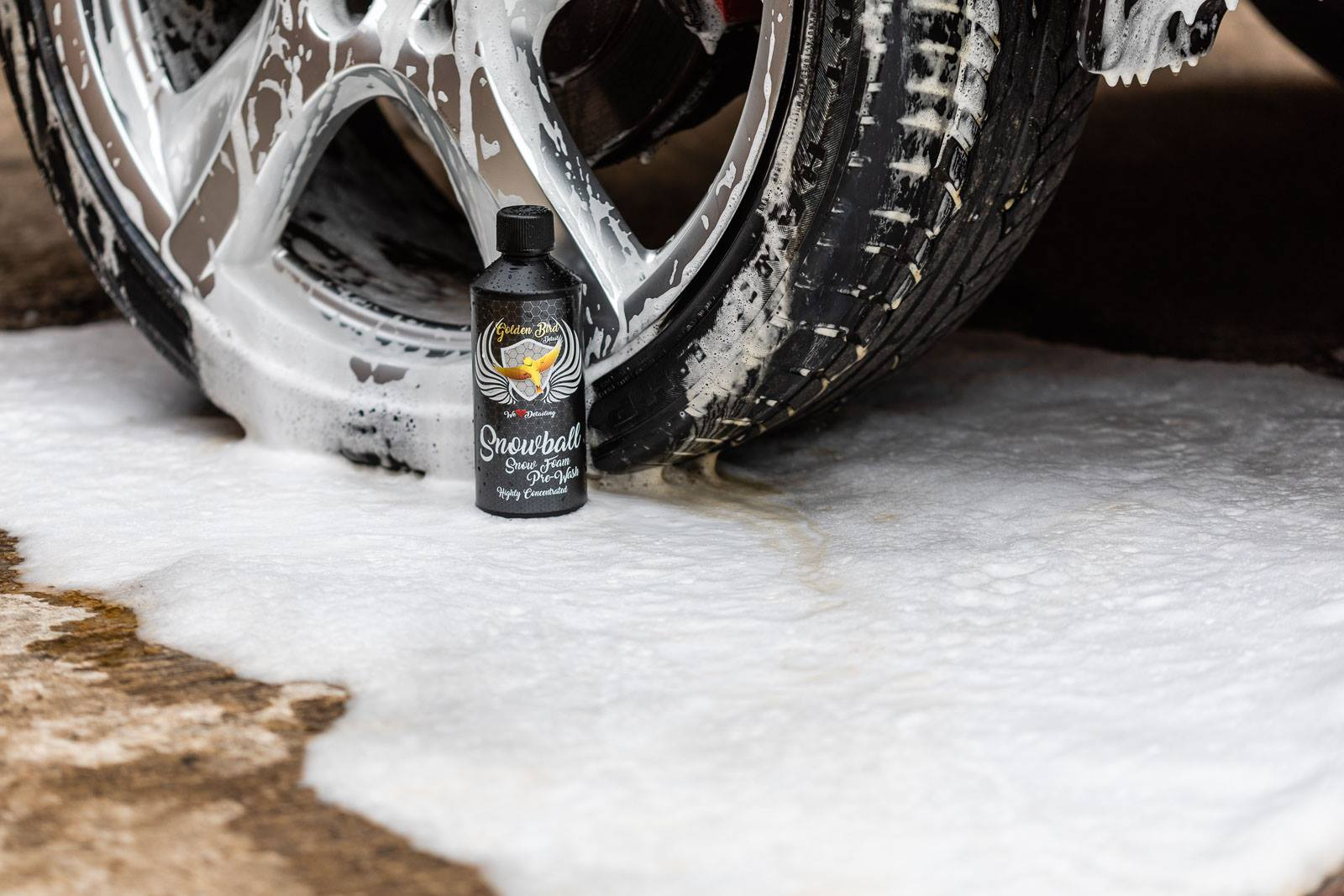 SNOWBALL  Snow Foam Pre-Wash  Highly Concentrated by Golden Bird Detail