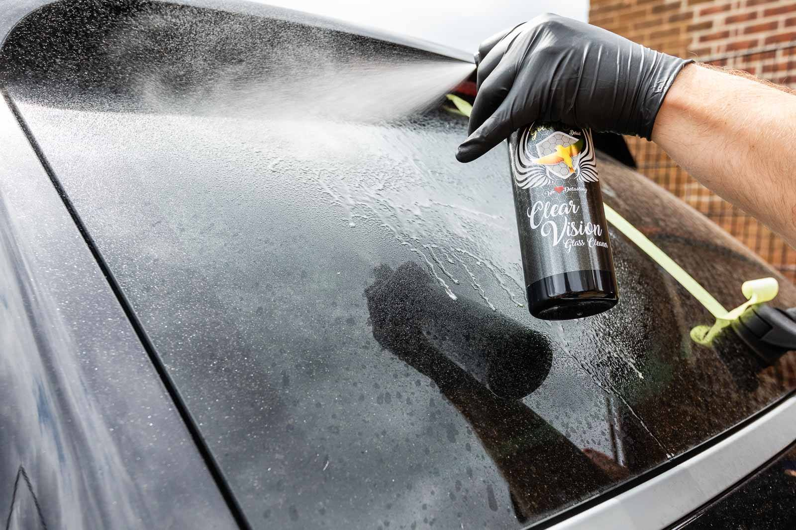 Clear Vision Glass Cleaner by Golden Bird Detail