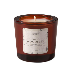 #6 Woodsley Cannabis Coconut Wax Candle