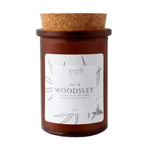 #6 Woodsley Coconut Wax Candle