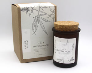 #3 Havana Wood Cannabis Coconut Wax Candle