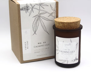 #25 Calming Lily Cannabis Coconut Wax Candle