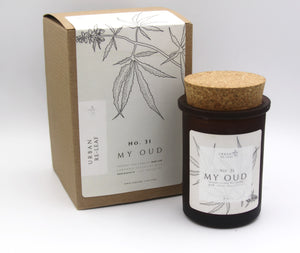 #31 My Oud Cannabis Coconut Wax Candle