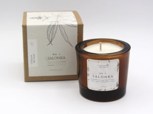 #1 Salonka Cannabis Coconut Wax Candle