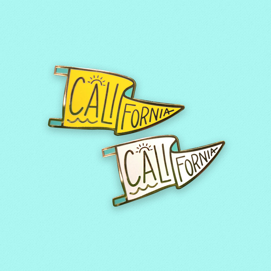 California Pennant Pin