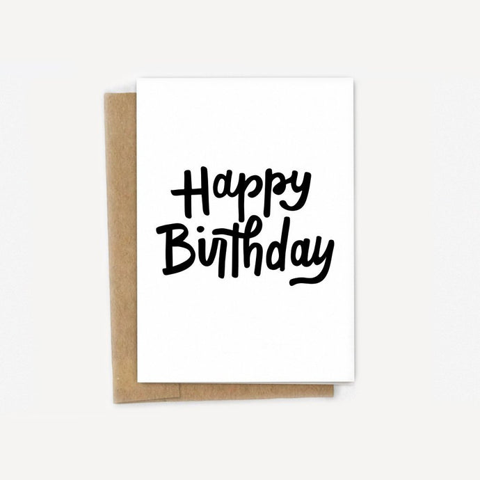 Bold Birthday Wishes Card