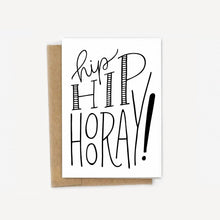 Load image into Gallery viewer, Hip Hip Hooray Congrats Card