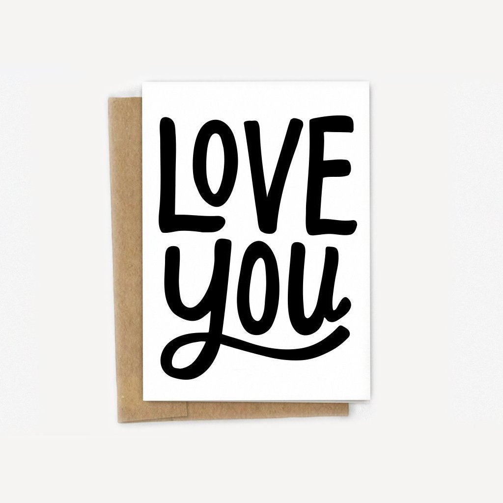 Love You Boldly Card