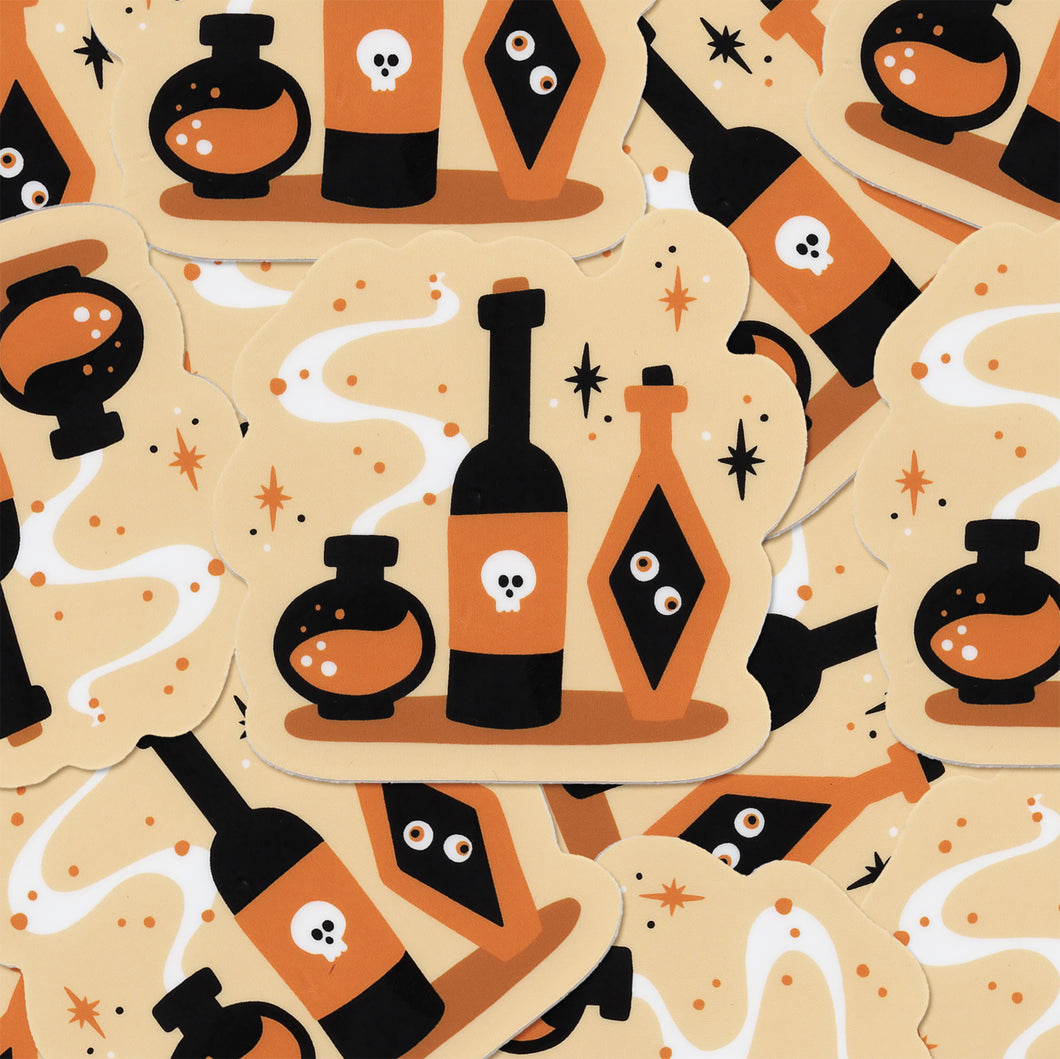 Apothecary's Potion Set Vinyl Sticker
