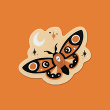 Load image into Gallery viewer, Midnight Moth Vinyl Sticker