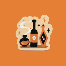 Load image into Gallery viewer, Apothecary's Potion Set Vinyl Sticker