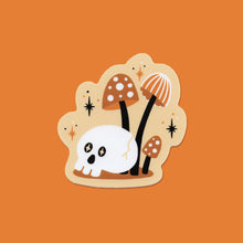 Load image into Gallery viewer, Mini Mushrooms & Skull Vinyl Sticker