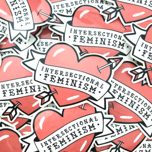 Intersectional Feminism Glossy Vinyl Stickers