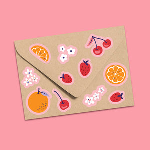 Sweet On You Fruity Stickers