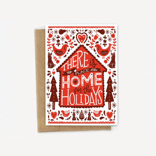 There's No-rdic Place Like Home for the Holidays Christmas Card