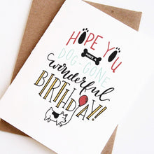 Load image into Gallery viewer, Dog-Gone Happy Birthday Card