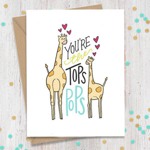 Your the Tops Pops Card