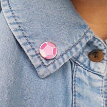 Load image into Gallery viewer, Mini Steven & Rose Quartz Gem Pin
