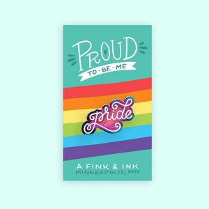 Metallic Rainbow LGBT+ Pride Pins