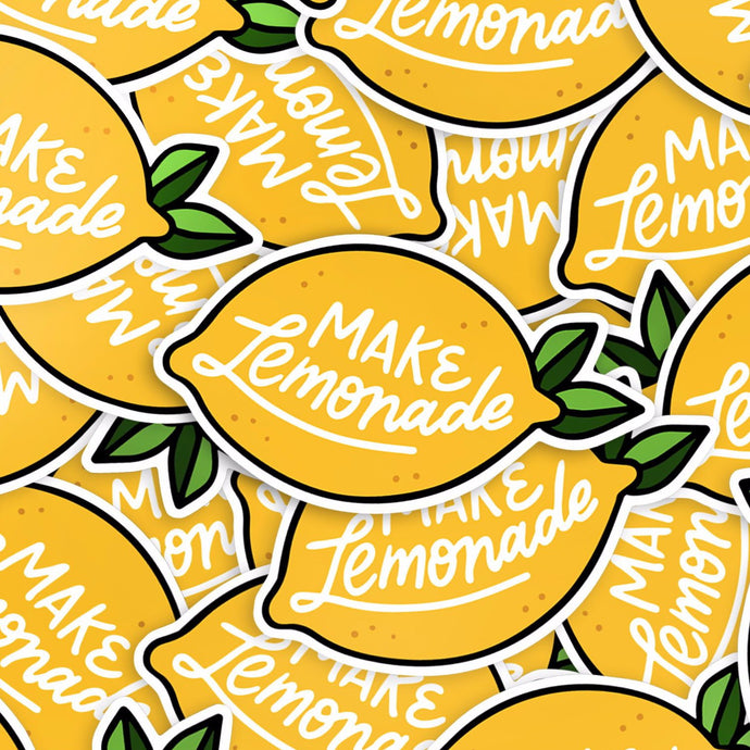 Make Lemonade Vinyl Stickers