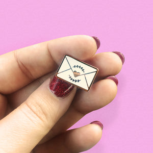 Lover Letter Mini Envelope Enamel Pin