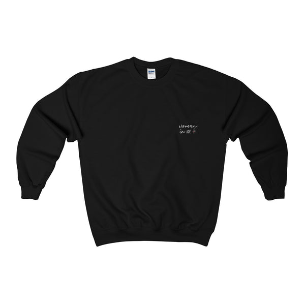 'WOMAN IN VR' Sweater in Black