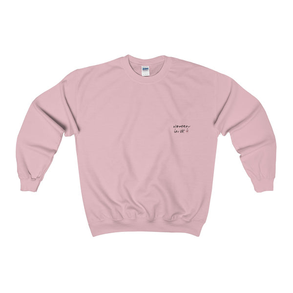'WOMAN IN VR' Sweater in Pink