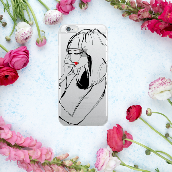 'ROSÉ' iPhone Case