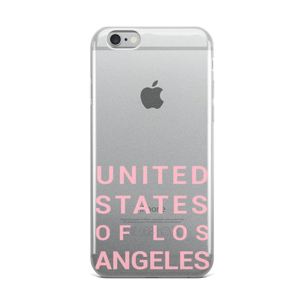 'USA OF LA' iPhone Case