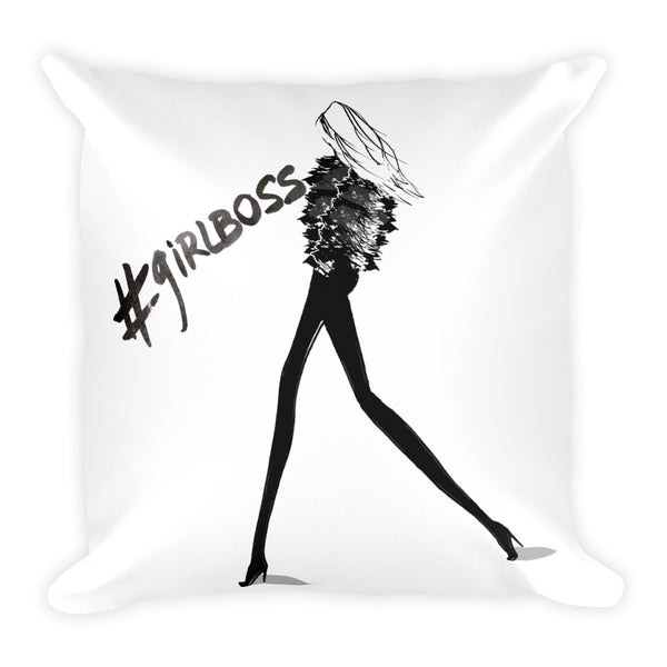 '#GIRLBOSS' Pillow