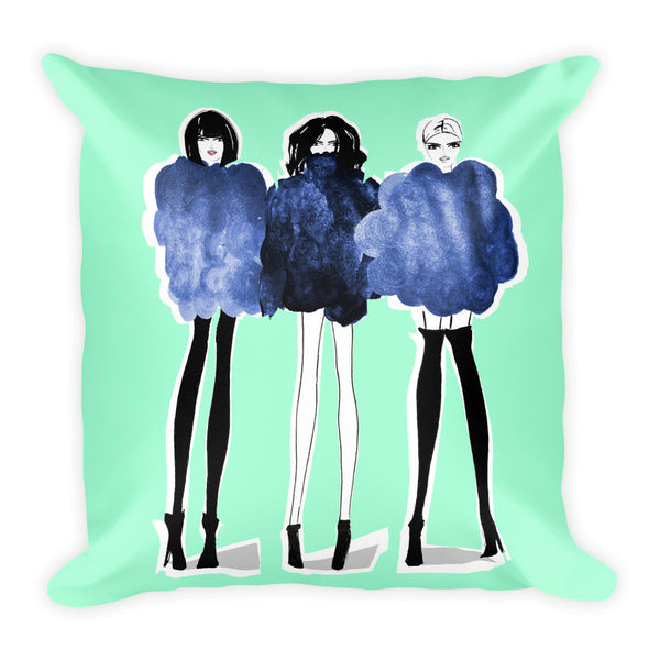 'SQUAD III' Pillow
