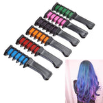 Temporary Hair Dye Comb (6-color package)