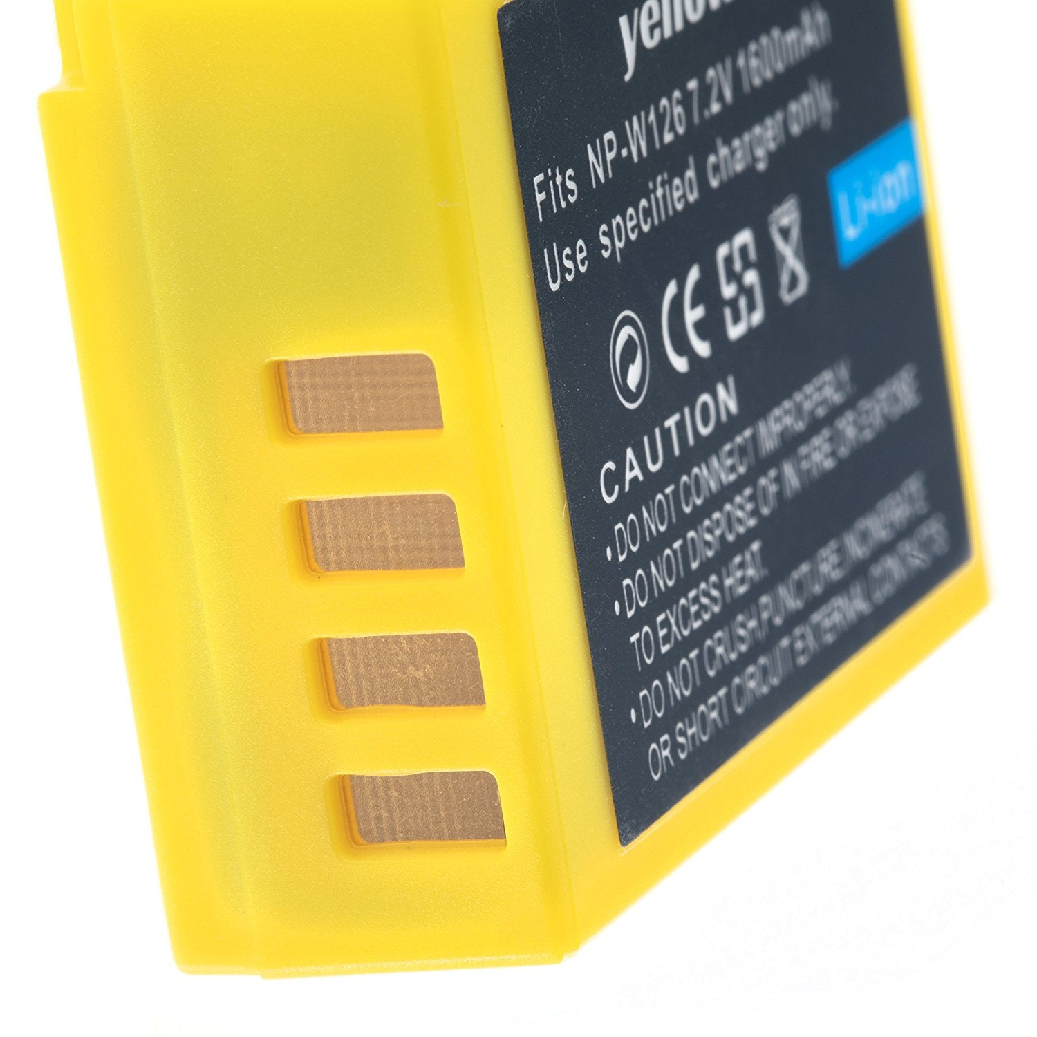 Fuji Np W126 Yellow Battery Baterai For X A3 E1 Pro 1 T2 T20 With Packing