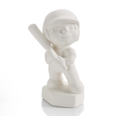 Pottery Party Animals- Baseball Player